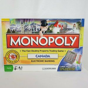 Monopoly Canada Electronic Board Game 2 in 1
